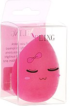 Парфюмерия и Козметика Гъба за грим, ярък розова - Bling Ring Original BeautyBlender