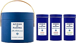 Парфюмерия и Козметика Acqua di Parma Blu Mediterraneo - Комплект сапуни (soap/3x70g)