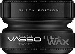 Парфюмерия и Козметика Моделиращ восък за коса - Vasso Professional Hair Styling Wax Gravity Black Edition