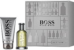 Парфюмерия и Козметика Hugo Boss Boss Bottled - Комплект (тоалетна вода/50ml + душ гел/100ml)