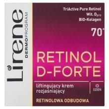 Парфюми, Парфюмерия, козметика Лифтинг крем за лице - Lirene Retinol D-Forte Face Cream 70+