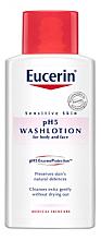 Парфюмерия и Козметика Почистващ лосион за тяло с чувствителна кожа - Eucerin Sensitive Skin pH5 WashLotion