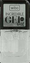Парфюмерия и Козметика База за гел-лак - Wibo Incredible Gel Base