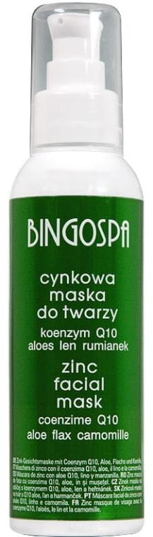 Цинкова маска за лице с алое и лайка - BingoSpa Zinc Mask