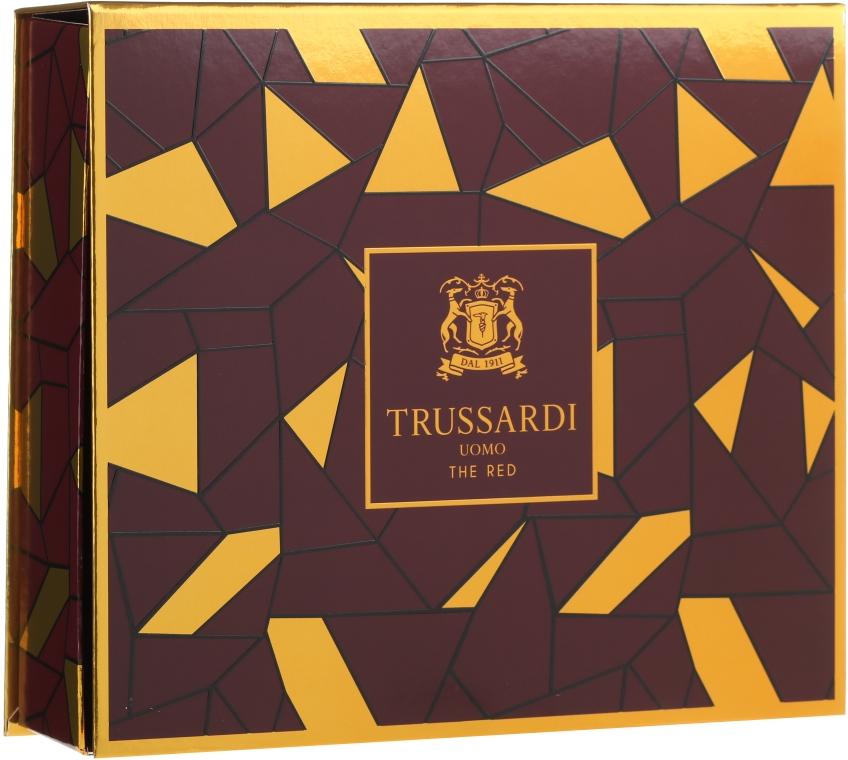 Trussardi Uomo The Red - Комплект (тоал. вода/50ml + душ гел/100ml) — снимка N1
