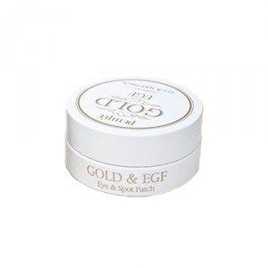 Хидрогел пачове за очи със злато - Petitfee & Koelf Gold&EGF Eye&Spot Patch  — снимка N5