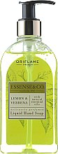 Парфюмерия и Козметика Течен сапун за ръце с лимон и вербена - Oriflame Essense & Co