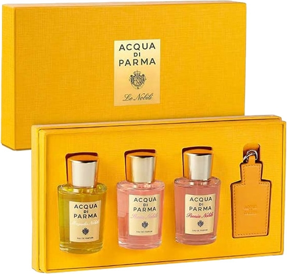 Acqua Di Parma Nobile - Комплект (парф. вода/3x20ml + аксесоар/1бр.)