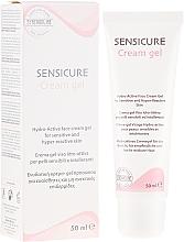 Парфюмерия и Козметика Овлажняващ крем-гел за чувствителна кожа - Synchroline Sensicure Creme Gel
