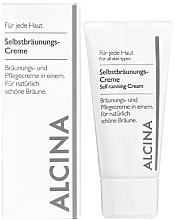 Парфюми, Парфюмерия, козметика Крем автобронзант - Alcina B Self-Tanning Cream