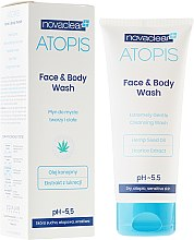 Парфюми, Парфюмерия, козметика Измиващ гел за лице и тяло - Novaclear Atopis Face&Body Wash