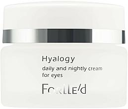 Парфюмерия и Козметика Околоочен крем - ForLLe'd Hyalogy Daily And Nightly Cream For Eyes