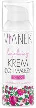 Парфюми, Парфюмерия, козметика Успокояващ нощен крем за лице - Vianek Face Cream