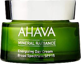 Парфюмерия и Козметика Минерален дневен крем за лице - Ahava Mineral Radiance Energizing Day Cream SPF 15