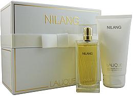 Парфюми, Парфюмерия, козметика Lalique Nilang de Lalique - Комплект (edp/100ml + sh/gel/150ml)