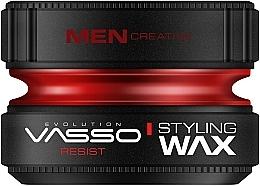 Парфюмерия и Козметика Моделиращ восък за коса - Vasso Professional Hair Styling Wax Resist