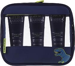 Комплект за мъже - Baylis & Harding Men's Citrus Lime & Mint Bag(hair/body/wash/100ml+face/wash/100ml+a/sh/balm/100ml+acc) — снимка N1