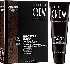 Парфюмерия и Козметика Система за маскиране на белите коси - American Crew Precision Blend Shades