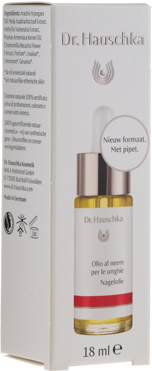 Комплект - Dr. Hauschka (h/cr30ml + nail/oil/18ml + buff/1pc) — снимка N3