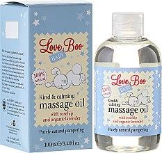 Парфюмерия и Козметика Успокояващо масажно масло за деца - Love Boo Baby Kind & Calming Massage Oil
