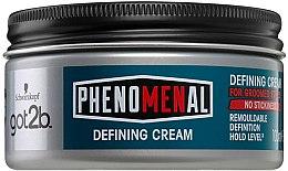 Парфюми, Парфюмерия, козметика Моделиращ крем за коса - Schwarzkopf Got2b Phenomenal Defining Cream