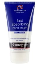 """Парфюми, Парфюмерия, козметика Лек крем за ръце """"Норвежка формула"""" - Neutrogena Norwegian Formula Fast Absorbing Light Texture Hand Cream"""
