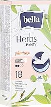 Парфюмерия и Козметика Ежедневни дамски превръзки Panty Herbs Sensetive Plantago, 18 бр. - Bella