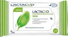 Парфюмерия и Козметика Кърпички за интимна хигиена - Lactacyd Fresh Intimate Wipes
