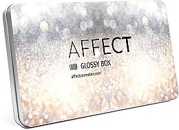 Парфюмерия и Козметика Празна магнитна палитра - Affect Cosmetics Glossy Box Mini Aluminium Palette