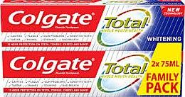 Парфюми, Парфюмерия, козметика Паста за зъби - Colgate Total Whitening Toothpaste Duopack