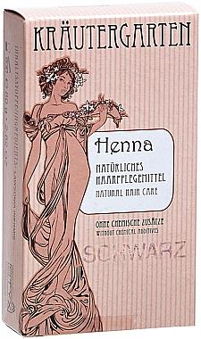 Къна за коса на прах в черен цвят - Styx Naturcosmetic Henna Pulver Schwarz — снимка N1