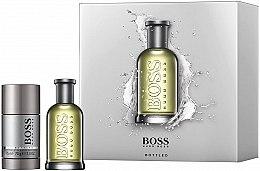 Парфюмерия и Козметика Hugo Boss Boss Bottled - Комплект (тоал. вода/50ml + део/75ml)