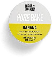 Парфюмерия и Козметика Матираща насипна пудра за лице - Makeup Obsession Pure Bake Baking Powder Banana