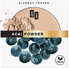 Парфюмерия и Козметика Матираща пудра за лице - AA Acai Powder