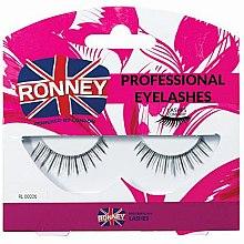 Парфюмерия и Козметика Изкуствени мигли, естествен косъм - Ronney Professional Eyelashes 00006