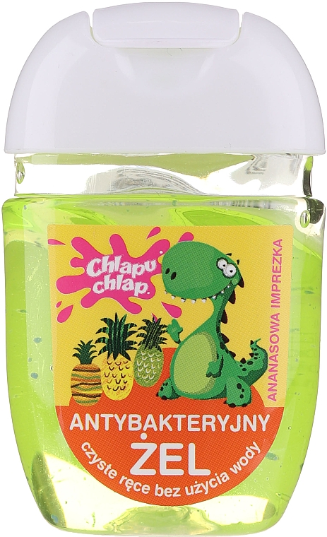 Антибактериален гел за ръце - Chlapu Chlap Antibacterial Hand Gel Pineapple Party