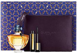 Парфюми, Парфюмерия, козметика Guerlain Shalimar - Комплект (edp/50ml + mascara/8,5 ml + bag)