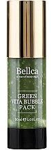 Парфюми, Парфюмерия, козметика Кислородна гел-маска за лице - Bellca Green Vita Bubble Pack