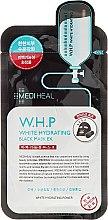 Парфюмерия и Козметика Възстановяваща маска за лице - Mediheal W.H.P White Hydrating Black Mask Ex