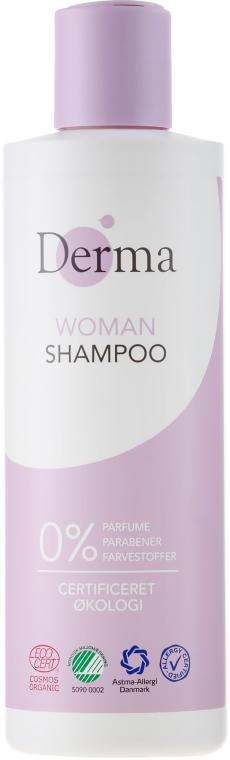 Шампоан за коса - Derma Eco Woman Shampoo — снимка N1