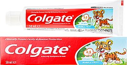 Парфюмерия и Козметика Детска паста за зъби от 2-3 години - Colgate Toddler Bubble Fruit Anticavity Toothpaste For 2-5 Years Kids