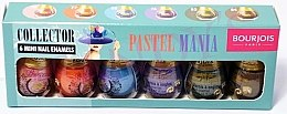 Парфюми, Парфюмерия, козметика Комплект лакове - Bourjois 6 Mini Nail Enamels Pastel Mania
