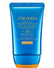 Парфюми, Парфюмерия, козметика Слънцезащитен крем против стареене - Shiseido Expert Sun Aging Protection Cream SPF30