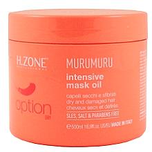 Парфюмерия и Козметика Маска за суха и увредена коса - H.Zone Option Murumuru Intensivr Mask Oil
