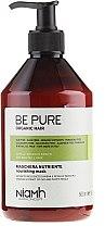 Парфюми, Парфюмерия, козметика Подхранваща маска за суха и безжизнена коса - Niamh Hairconcept Be Pure Nourishing Mask