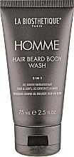 Парфюмерия и Козметика Измиващ гел за тяло, коса и брада - La Biosthetique Homme Hair Beard Body Wash