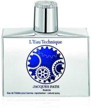 Парфюмерия и Козметика Jacques Fath L`eau Technique - Тоалетна вода
