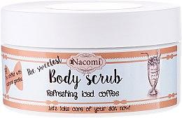 Парфюмерия и Козметика Захарен ексфолиант за тяло с кафе - Nacomi Body Scrub Refreshing Iced Coffee