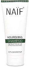 Парфюмерия и Козметика Подхранващ шампоан за коса с екстракт ленено семе - Naif Nourishing Shampoo