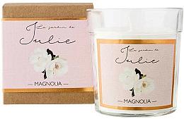 "Парфюмерия и Козметика Ароматна свещ ""Магнолия"" - Ambientair Le Jardin de Julie Magnolia"